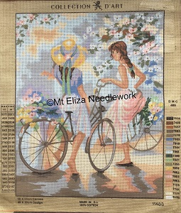 Cycling in Spring Tapestry