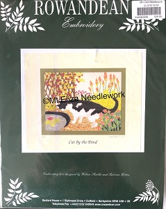 Cat by the Pond Embroidery Kit