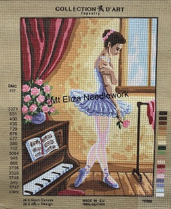 The Young Ballerina Tapestry