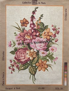 Bouquet d Avril Tapestry
