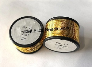 Japanese Metallic Gold Thread