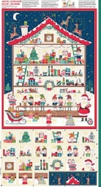Santas Workshop Advent Calendar Panel