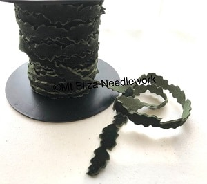 Velour Christmas Tree Ribbon