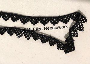Black Guipure Lace