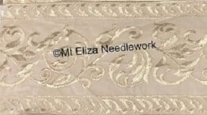 Beige Cambric Lace