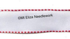 White Wire Edged Ribbon